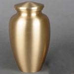 Brass Urn - Gold