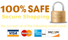 100% Safe Secure Shopping